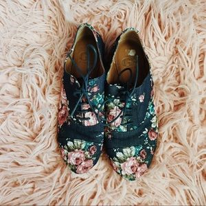 Floral, Blue, Pink, White, Green, GIANNI BINI